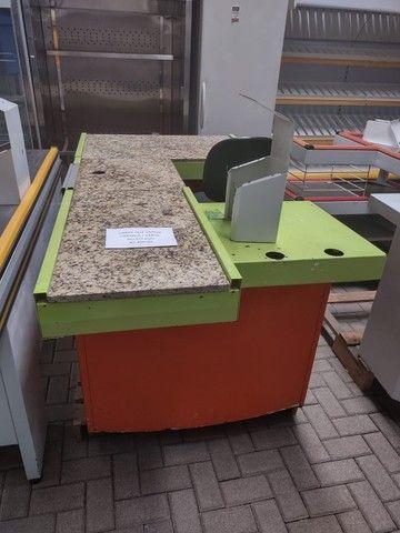 """Checkout Verde/Laranja com Granito 1,90X1,00X0,85A - Usada """"No Estado"""" - Foto 5"""