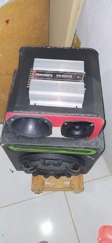 Módulo de som completo com amplificador - Foto 2