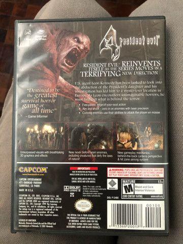 Resident evil 4 - nintendo game cube - Foto 2