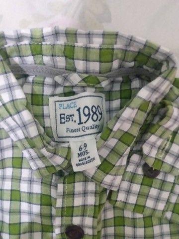 Camisa bebê  - Foto 2