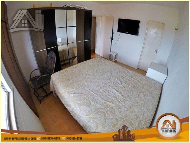 Apartamento com 3 dormitórios à venda, 96 m² por R$ 280.000,00 - Vila União - Fortaleza/CE - Foto 16