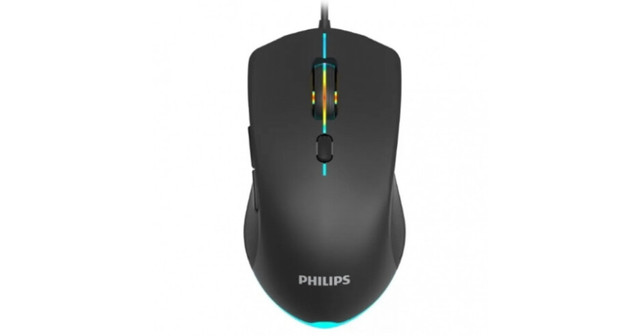 Mouse Gamer Com Led e 6 Botões de 1000 Dpi Philips - SpkG404