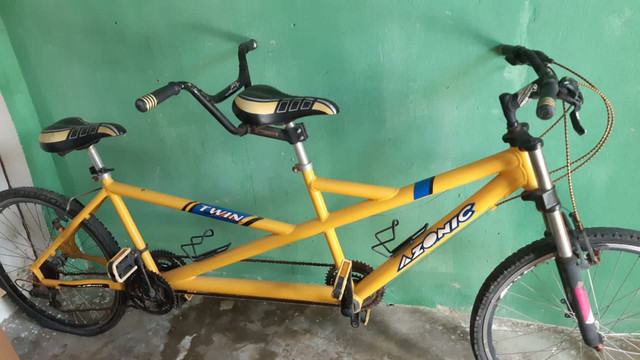 Bicicleta dois lugares!