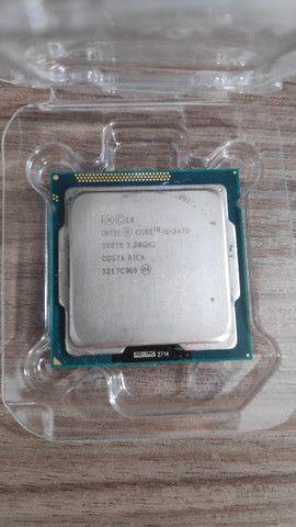 Processador Intel Core I5-3470 De 4 Núcleos E 3.2ghz Com Gpu + Pasta térmica - Foto 4
