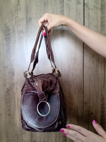 Bolsa em couro Top Couros - Foto 2