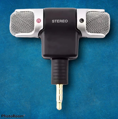 Mini microfone pra celular esterio super som grande promoção - Foto 4