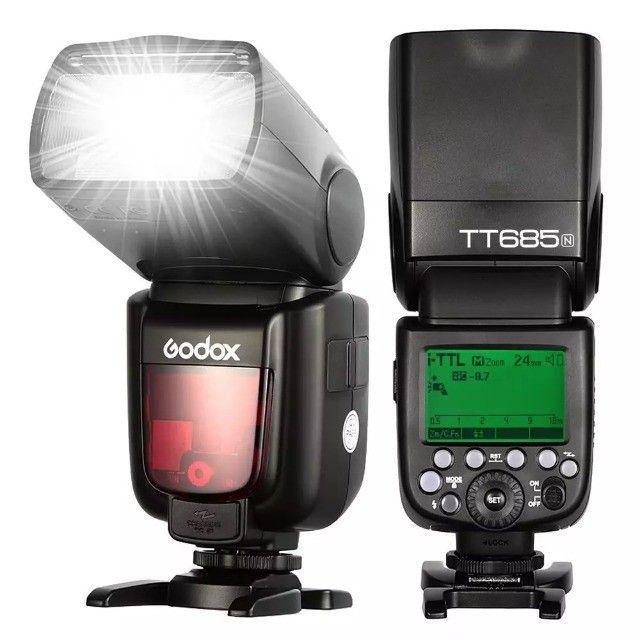 Flash Godox TT685n TTL - Para Nikon (Novo, com Garantia e NF)