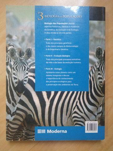 Livros Biologia 2 e 3 - Amabis e Martho - Foto 2
