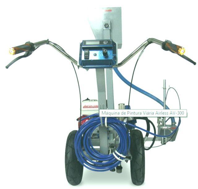 maquina de pintura de demarcação viaria airless formac - Foto 4
