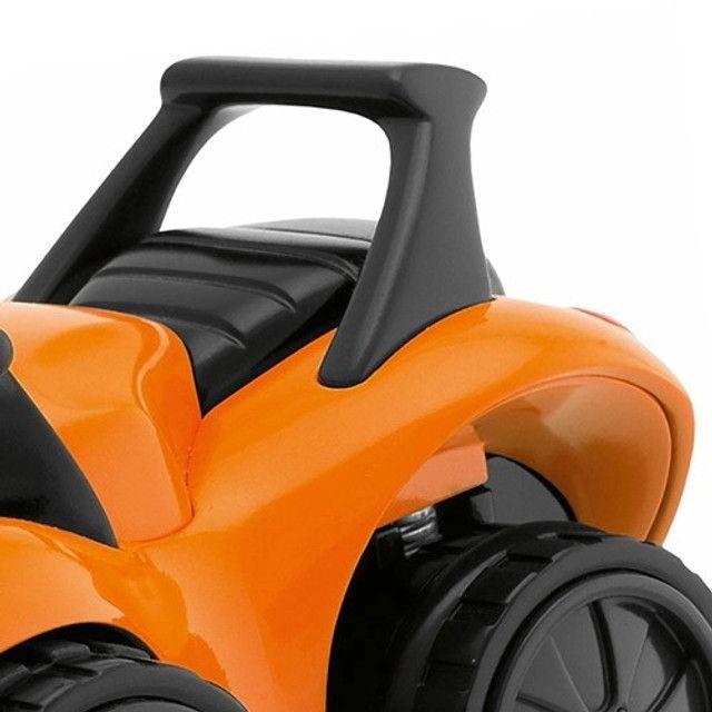 carrinho de Brinquedo Bebê/Infantil Turbo Touch Quaddy Laranja - Chicco - Foto 4