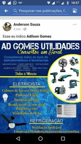 AD Gomes serviços eletrica e refrigeração
