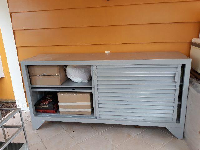 Armário de aço para garagem