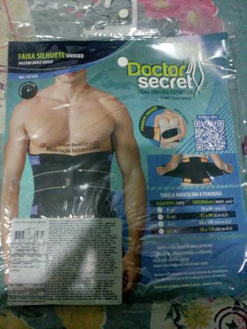 e7341096e Cinta Modeladora Doctor Secret - Beleza e saúde - Jardim Maria José ...