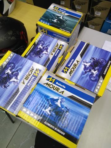Bateria moura para motos citycom300i boulevard m800 ma10-e entrega em todo rio - Foto 5