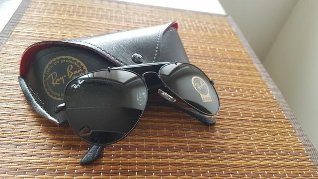 04db79685 Óculos Sol Ray Ban Aviador - Bijouterias, relógios e acessórios ...