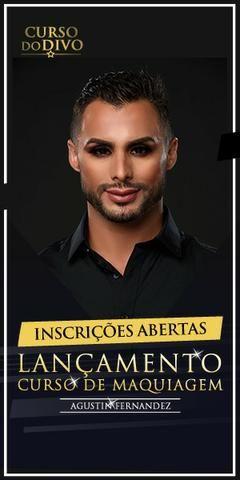 Curso de Maquiagem com Augustin Fernandez