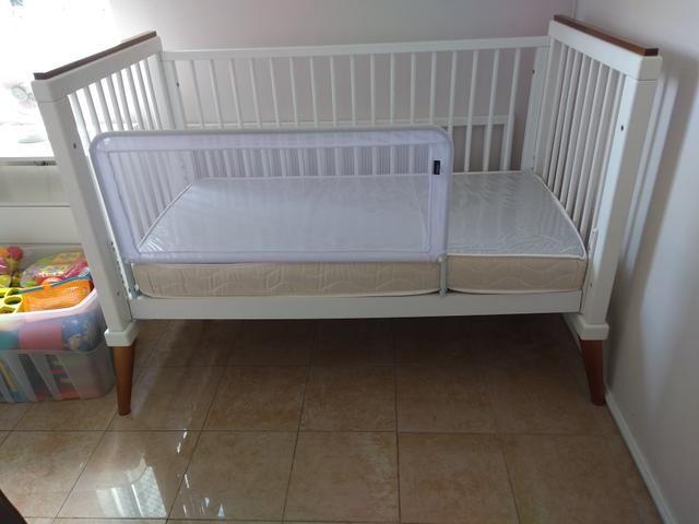 Berço mini cama branco laqueado - linha âmbar da sleeper - quarto crescente - Foto 3