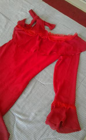 Vestido de festas vermelho - Foto 5