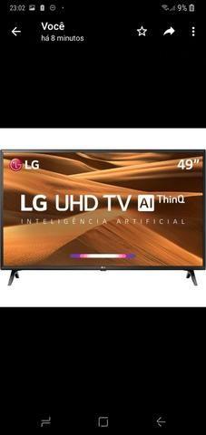 Smart TV LG 4K, 3 HDMI, 2 USB, COMANDO DE VOZ - Foto 2