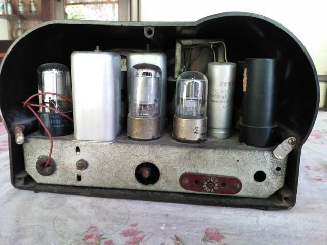 Radio antigo valvulado caixa de Baquelite Argentino - Foto 5