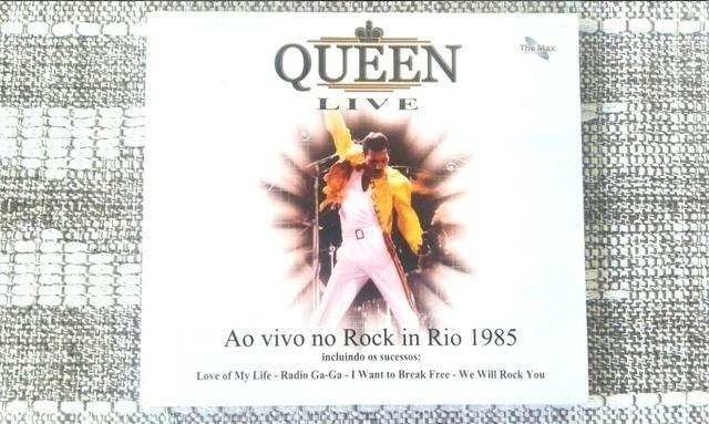 CD QUEEN ROCK IN RIO 1985 Live (Original/Ao Vivo Brasil) - Foto 4