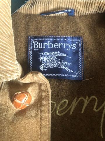 Torro !!! Jaqueta em couro Burberry original e novissima - Foto 3