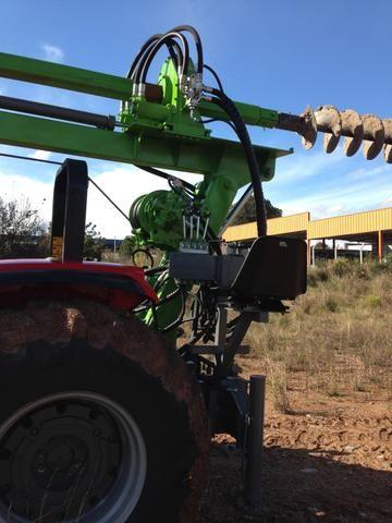 Perfuratriz Hidraulica de solo trator - Foto 3