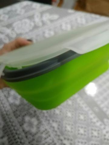 2 marmitas de silicone retratil - Foto 3