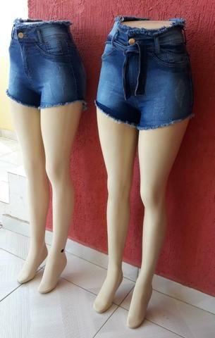 Shorts Jeans com Lycra de 3% - Foto 4
