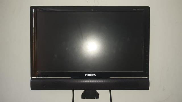 TV monitor Philips 18,5 polegadas LED 190TS2L