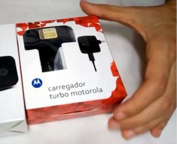 Carregador Motorola Turbo 3.0