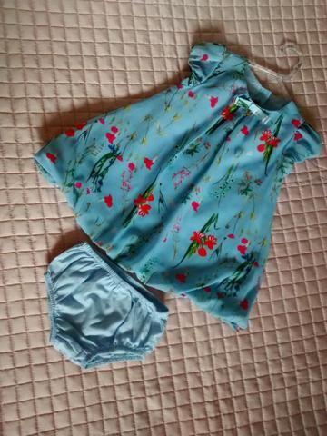 Vestidos tamanho 9 a 18 meses - Foto 5
