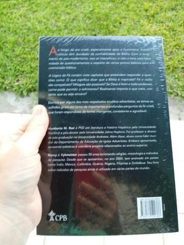 Livro A Lógica da Fé Humberto Rasi e Nanci Vyhmeister Editora CPB - Foto 4