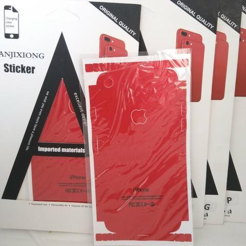 Plotagem RED para iPhone 5, 5s, 6 plus, 7 e 7 plus