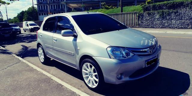 Toyota Etios e completo cano esportivo - Foto 7
