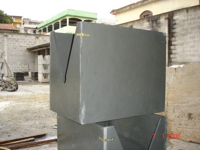 Caixa/protetor Para Ar Condicionado Em Ardósia - Foto 2