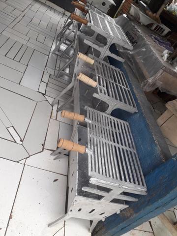 CHURRASQUEIRA alumínio fundido