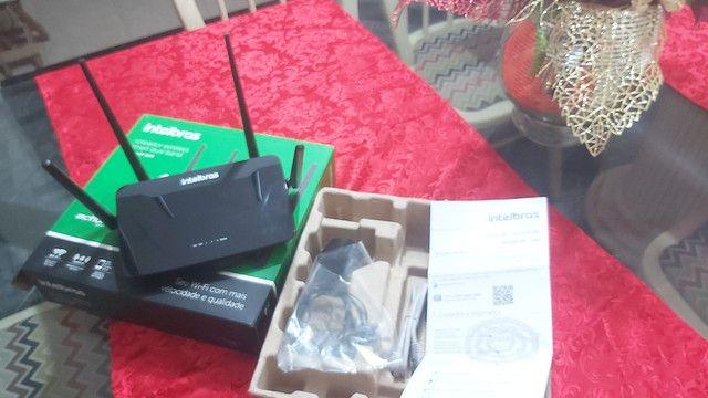 Roteador Intelbras Dual band AC 1200 RF 1200 - 5 Anos de Garantia