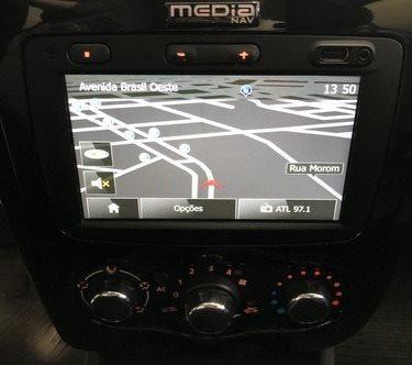 Sandero 1.0 TechRun Flex - Completo // Multimídia - Foto 8