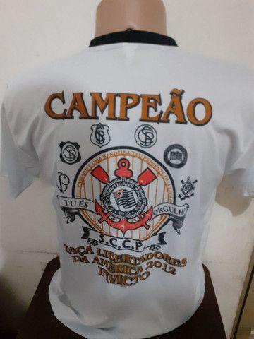 Camiseta Do Corinthians Comemorativa 2012 - Foto 2