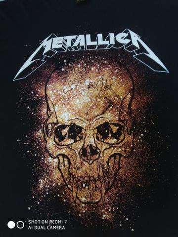 Camisas de rock Motorhead e Metallica 2 por 70$