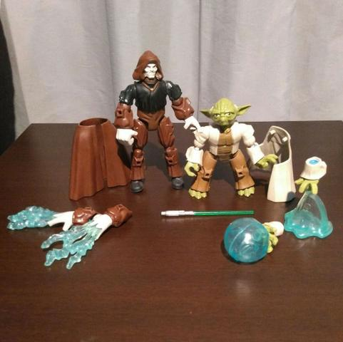 Mestre Yoda x Imperador Palpatine - Star Wars