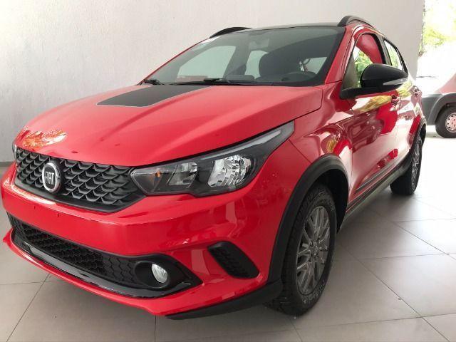 Fiat 0KM Argo Trekking 2021/2021 Aut. 1.8 - Vermelho   Oferta: R$ 82.540 - Foto 2