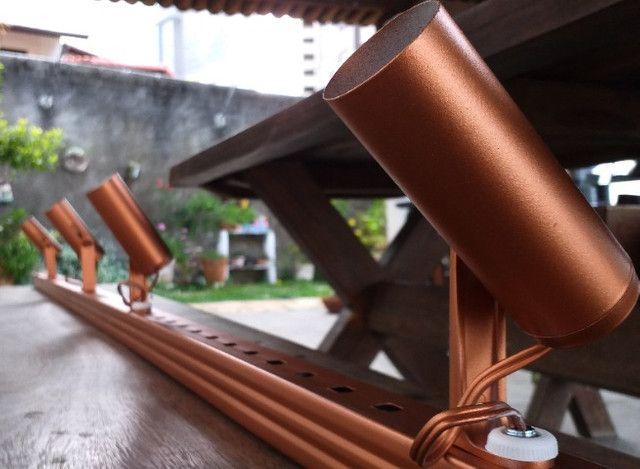 Luminária trilho industrial - modernidade e praticidade - Foto 6