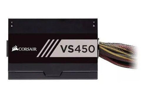 Fonte Corsair 450w Vs450 80 Plus Nova Lacrada Garantia Instalamos - Loja Natan Abreu - Foto 5