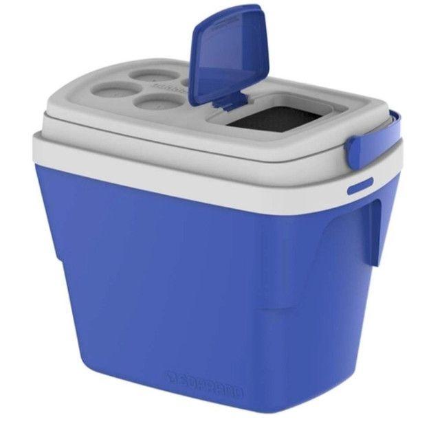Caixa Térmica Tropical 28L Azul Soprano