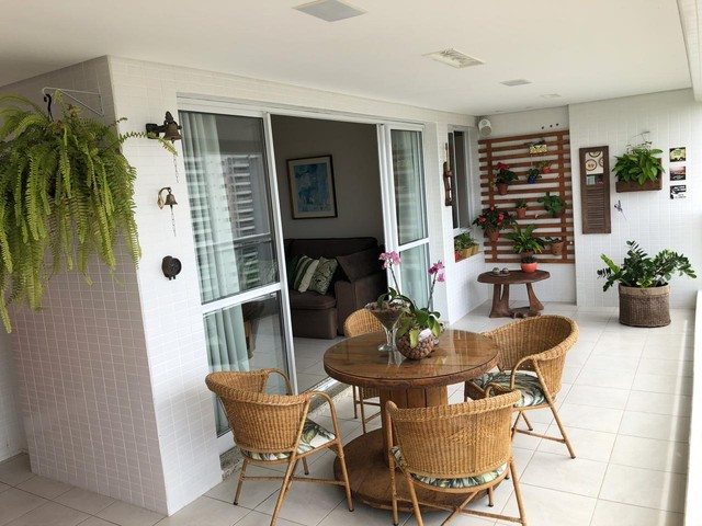 Aluguel Apartamento 180m², Nascente, 3 Suítes, Decorado e Mobiliado, em Patamares, Salvado - Foto 5