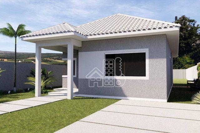 Casa com 3 dormitórios à venda, 100 m² por R$ 495.000,00 - Jardim Atlântico Leste (Itaipua - Foto 3