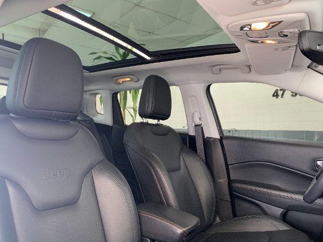 Jeep Compass 2019 2.0 Limited Flex C/Teto Solar - Foto 10