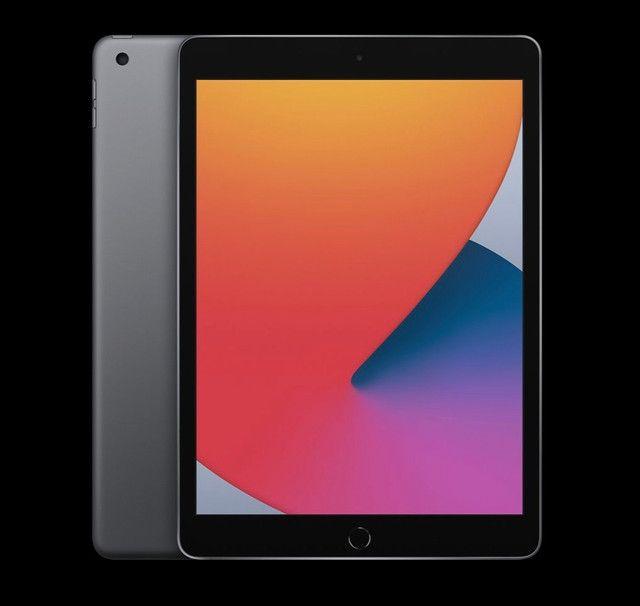 iPad 8ª G preto 128gb Wi-Fi novo